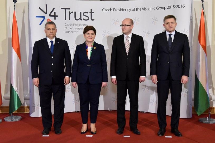 Przywódcy Grupy Wyszehradzkiej /Mateusz Jagielski /East News