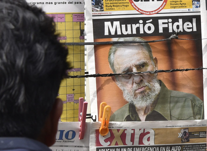 Przywódcy państw Ameryki Łacińskiej żegnają Fidela Castro /AFP