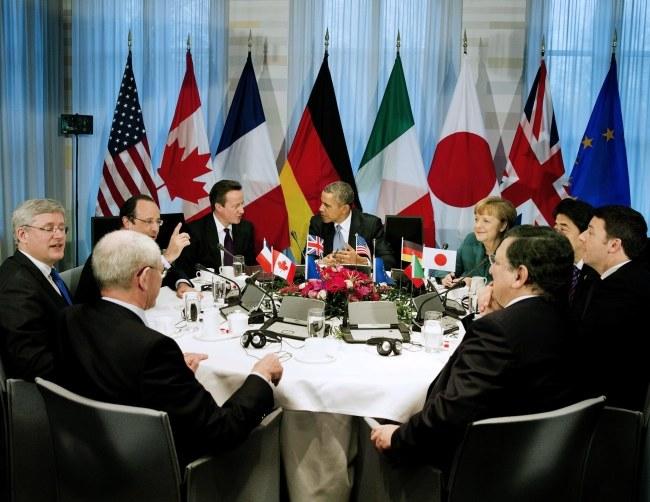 Przywódcy państw G7 /JERRY LAMPEN / POOL /PAP/EPA
