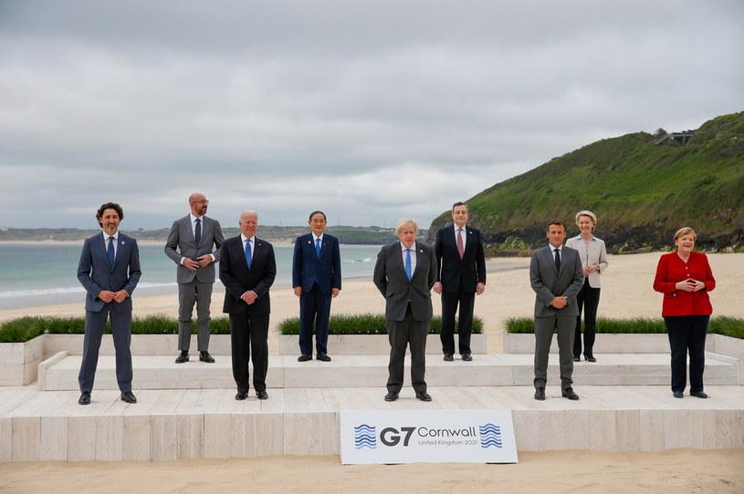 Przywódcy państw G7 /HOLLIE ADAMS / POOL /PAP/EPA