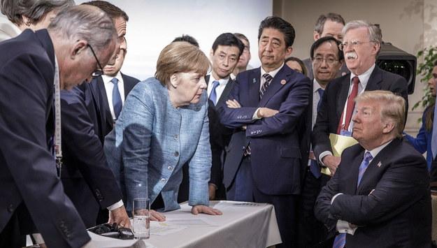 Przywódcy państw podczas drugiego dnia szczytu G7 /JESCO DENZE HANDOUT /PAP/EPA