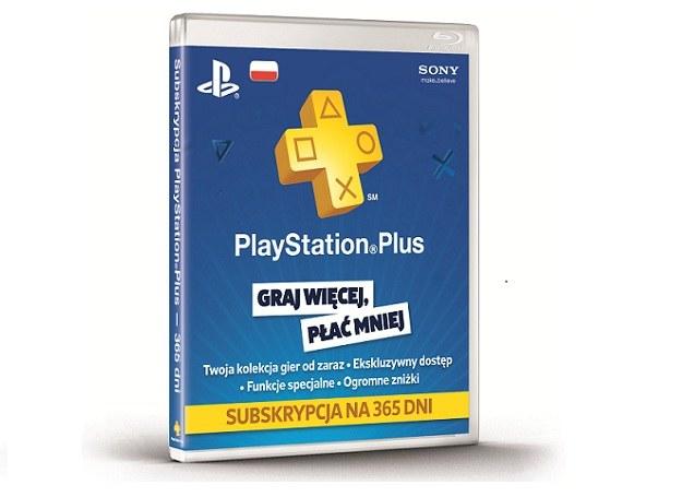 PS Plus 365 /materiały promocyjne