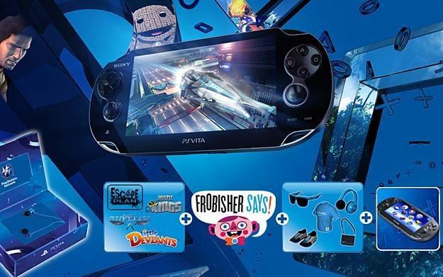 PS Vita - zdjęcie konsoli z promocyjnymi dodatkami /Informacja prasowa