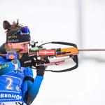 PŚ w biathlonie. Julia Simon wygrała bieg ze startu wspólnego w Anterselvie