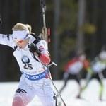 PŚ w biathlonie: Krystyna Guzik na podium w Presque Isle