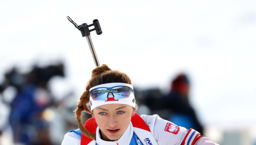 PŚ w biathlonie. Monika Hojnisz zajęła 21. miejsce w biegu pościgowym. Triumf Makarainen
