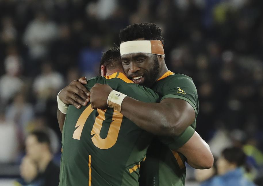 PŚ w rugby: Trzeci w historii triumf RPA /MARK R. CRISTINO /PAP/EPA