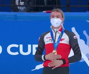 PŚ w short tracku. Natalia Maliszewska wygrała w Pekinie! Wyścig z udziałem Polki. WIDEO (Polsat Sport)