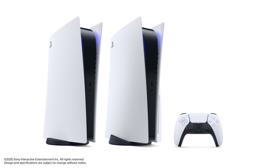 PS5 w wersji standardowej i Digital Edition /materiały prasowe