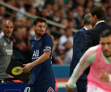 PSG - Lyon. Leo Messi nie podał ręki trenerowi, schodząc z boiska