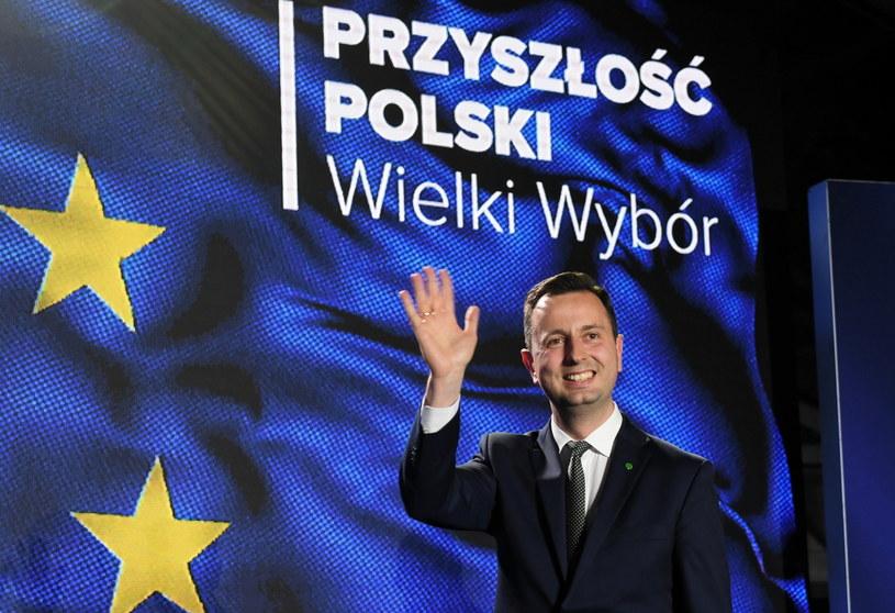 PSL żegna się z Koalicją Europejską? Prezes partii Władysław Kosiniak-Kamysz w sztabie wyborczym / Radek Pietruszka   /PAP