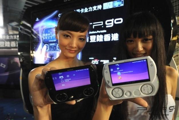 PSP Go - ostatnia wersja konsoli PSP. Jak będzie wyglądał telefon? /AFP