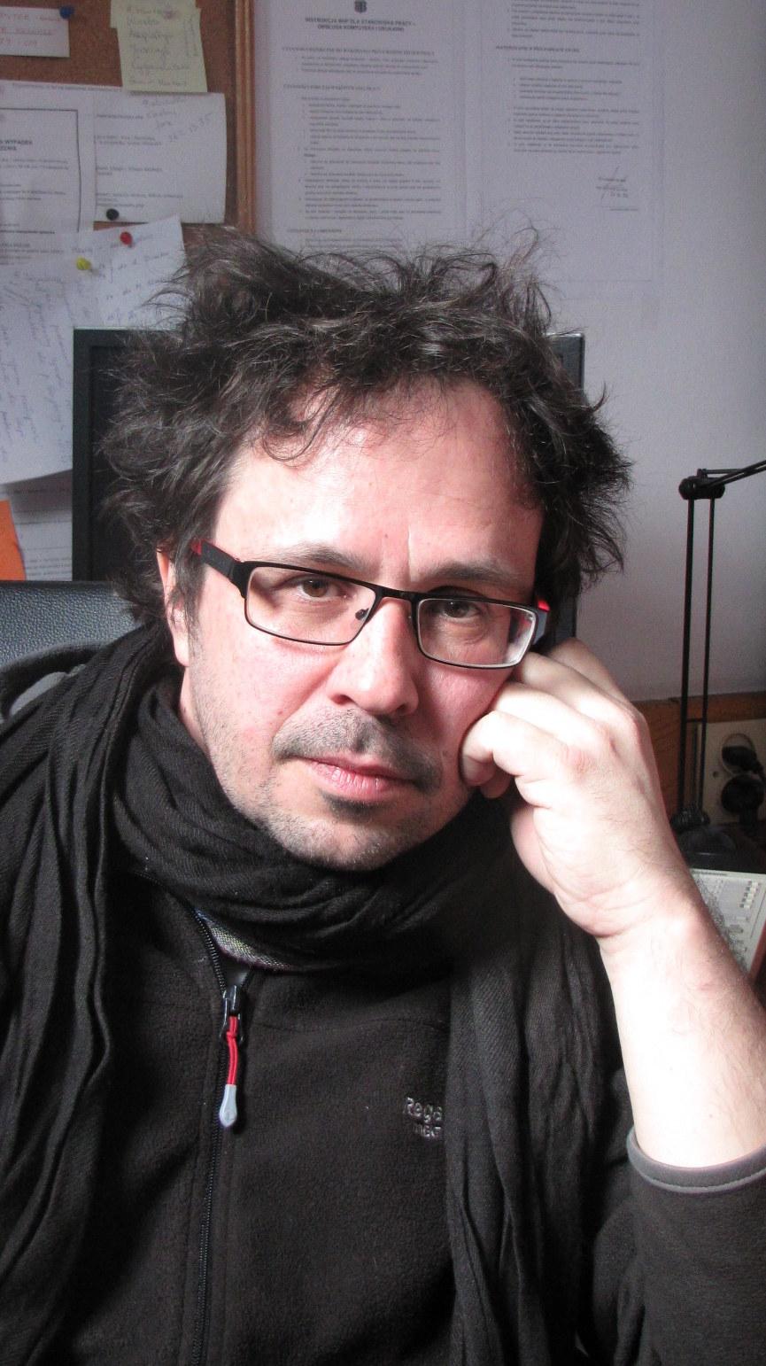 """Psycholog, Grzegorz Iniewicz, współautor książki """"Jak przeżyć z teściami?"""" /Maciej Grzyb RMF FM /RMF FM"""