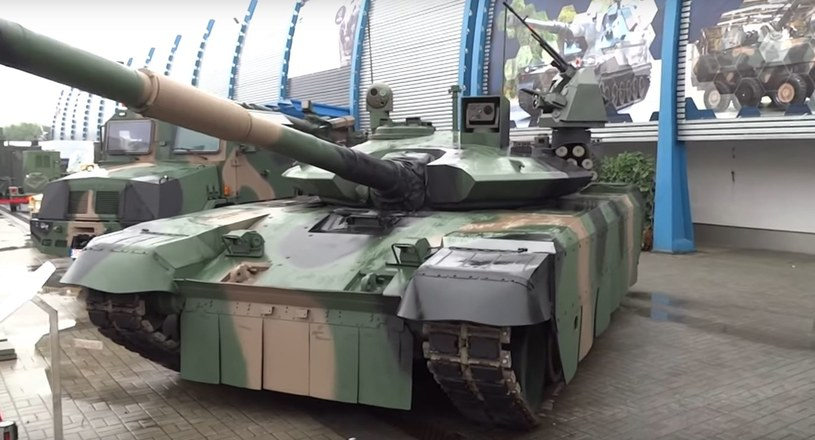 """PT-17 najnowsza propozycja modernizacji czołgów PT-91 """"Twardy"""" /INTERIA.PL/materiały prasowe"""