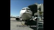 Ptak wybił dziurę w dziobie samolotu! Było groźnie!