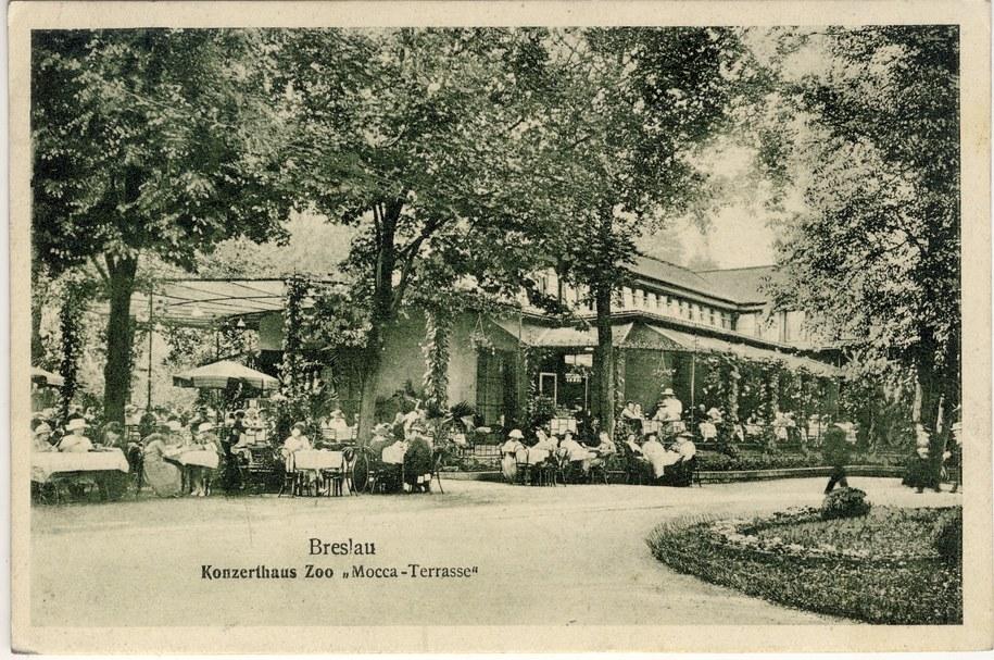 Ptaszarnia na zdj. z 1925 roku /ZOO Wrocław /