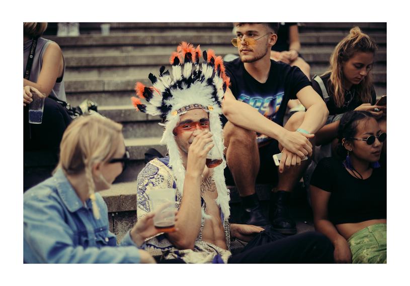 Publiczność festiwalu Melt /Michał Klusek - Shoot Me /materiały promocyjne