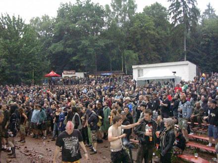 Publiczność na Obscene Extreme Festival /INTERIA.PL
