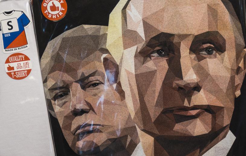Publiczność w domu, zwłaszcza amerykańskie sieci telewizyjne, w napięciu czeka na spotkanie Trumpa i Putina; zdj. ilustracyjne /AFP