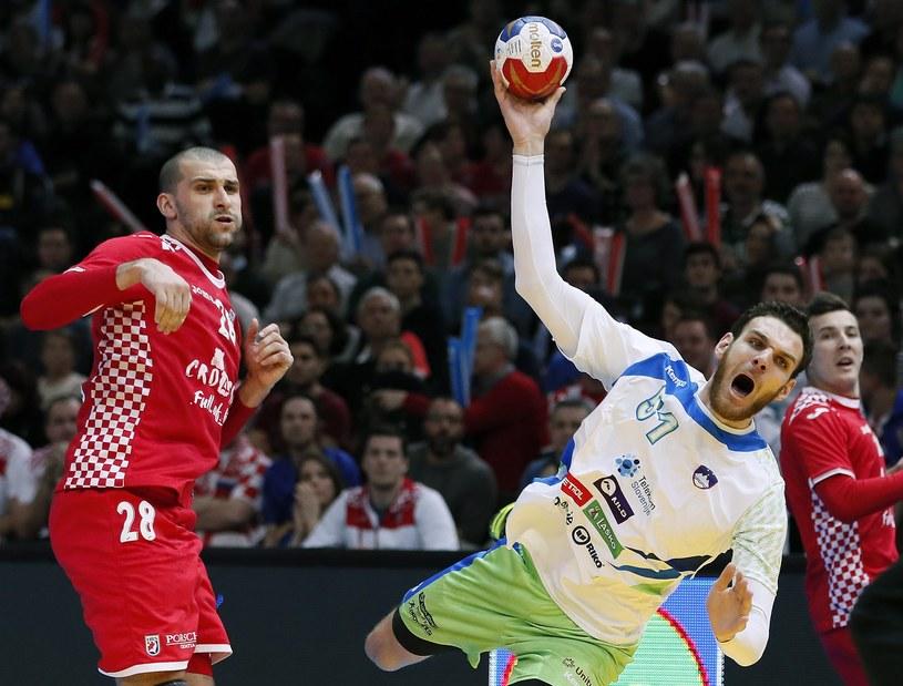 Publiczność w paryskiej hali była świadkiem bałkańskiej rywalizacji o medal /PAP/EPA