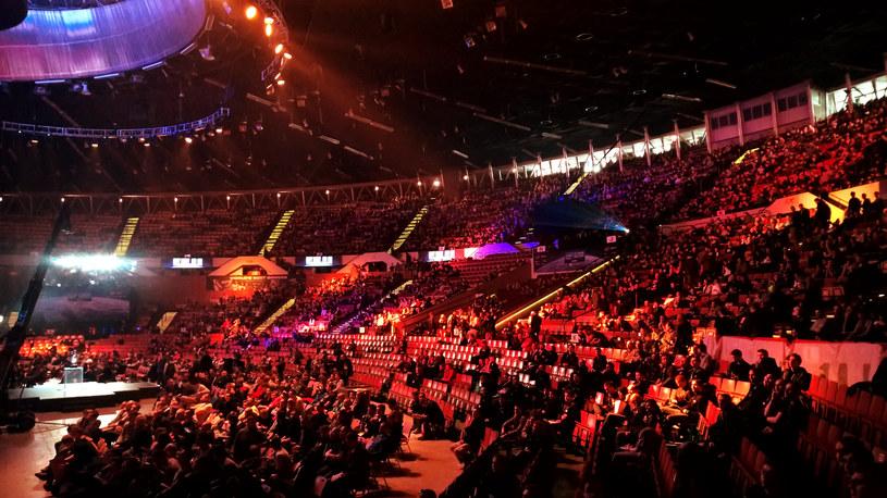 Publika na meczu StarCraft II /INTERIA.PL