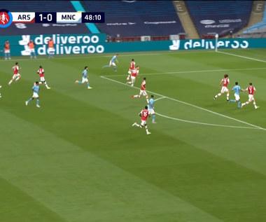 Puchar Anglii. Arsenal - Manchester City 2-0 - skrót (ZDJĘCIA ELEVEN SPORTS). WIDEO