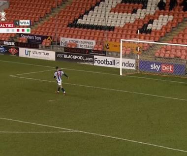 Puchar Anglii. Blackpool - West Bromwich Albion 2-2 (3-2 k.) - skrót (ZDJĘCIA ELEVEN SPORTS). WIDEO