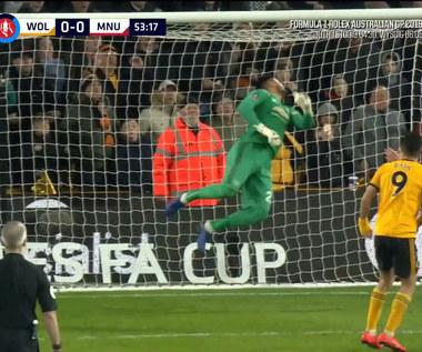 Puchar Anglii. Wolverhampton - Manchester United 2-1 - skrót (ZDJĘCIA ELEVEN SPORTS). WIDEO