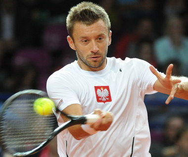 Puchar Davisa: Michał Przysiężny - Bernard Tomic 5:7, 6:7 (1), 4:6