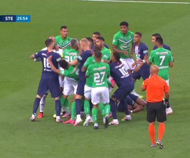 Puchar Francji. PSG - Saint-Étienne 1-0. Poważna kontuzja Mbappe - skrót. Wideo