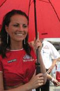 Puchar Golfa promowany jest przez piękne hostessy... /INTERIA.PL
