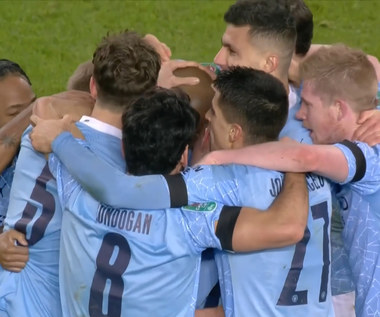 Puchar Ligi Angielskiej. Manchester United FC - Manchester City FC 0-2 - skrót (ZDJĘCIA ELEVEN SPORTS). WIDEO