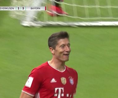 Puchar Niemiec. Bayer Leverkusen - Bayern Monachium 2-4. Dwa gole Lewandowskiego - skrót. Wideo
