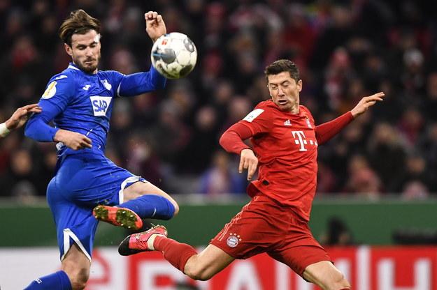 Puchar Niemiec - dwa gole Lewandowskiego, Bayern w ćwierćfinale /LUKAS BARTH-TUTTAS /PAP/EPA
