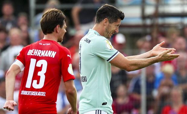 Puchar Niemiec: Gol Lewandowskiego, skromna wygrana Bayernu
