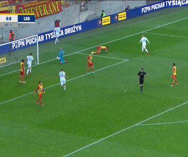 Puchar Polski. Jagiellonia Białystok - Lechia Gdańsk 1-3 - SKRÓT. WIDEO (Polsat Sport)