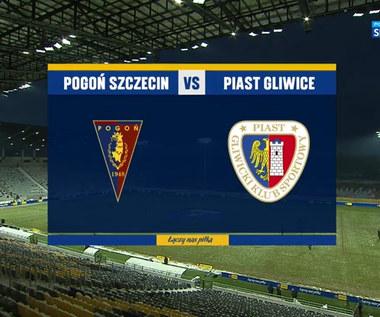 Puchar Polski. Pogoń Szczecin - Piast Gliwice 1-2. Skrót meczu (POLSAT SPORT). Wideo