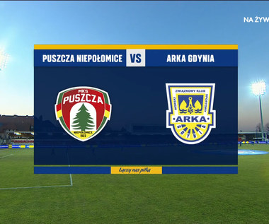 Puchar Polski. Puszcza Niepołomice - Arka Gdynia 2-5. Skrót meczu (POLSAT SPORT). Wideo