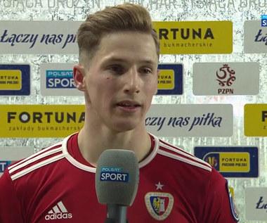 Puchar Polski. Remigiusz Borkała: Pogoń rozdawała nam prezenty (POLSAT SPORT). Wideo