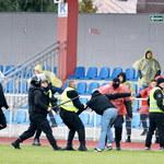 Puchar Polski. Wisła Sandomierz - Korona Kielce 3-2. Zamieszki i przerwany mecz