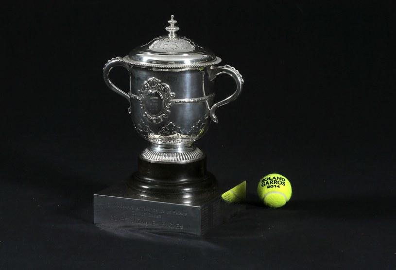 Puchar Suzanne Lenglen za zwycięstwo w turnieju kobiecym /AFP