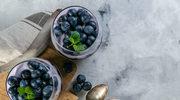 Pudding jagodowo-borówkowy