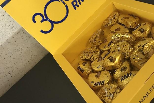 Pudełka z czekoladkami od RMF FM /Monika Kamińska /RMF FM