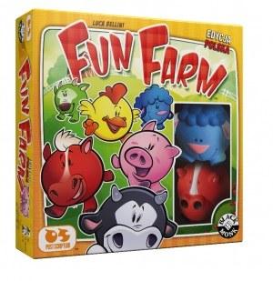 """Pudełko gry """"Fun Farm"""" /materiały prasowe"""