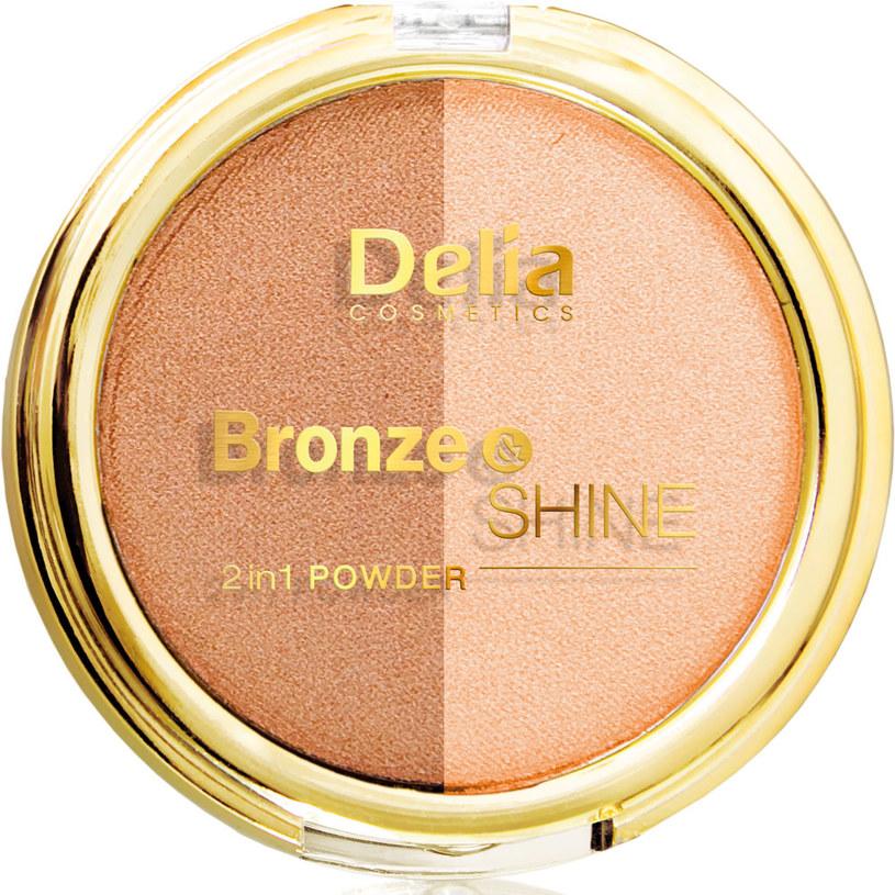 Puder brązująco-rozświetlający Bronze&Shine /Styl.pl/materiały prasowe
