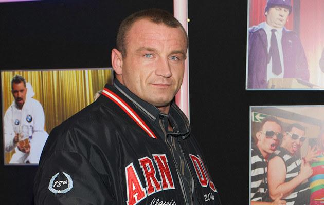 Pudzian, fot. Paweł Przybyszewski  /MWMedia