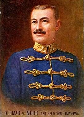 Pułkownik Othmar Muhr /miasto.limanowa.pl /