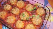 Pulpeciki indycze w sosie pomidorowym