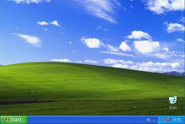 Pulpit, który widzieliśmy od razu po zainstalowaniu Windows XP - wspomnienia wracają... /materiały prasowe