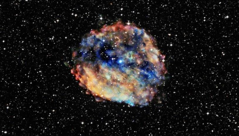Pulsar 1E 1613 - nazwany Najwolniejszym pulsarem w historii /NASA